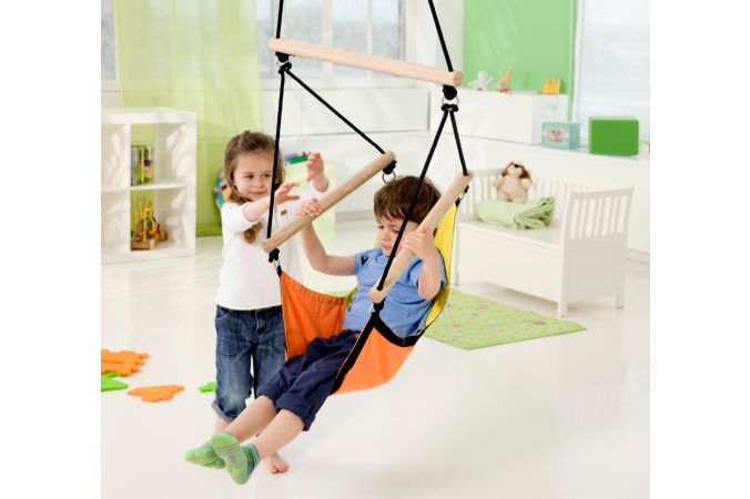 Kids Hanging Chair 'Swinger' Yellow