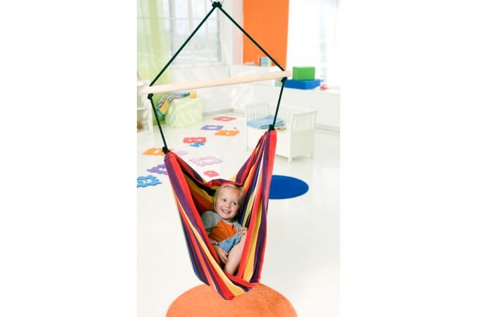Kids Hanging Chair 'Relax' Rainbow