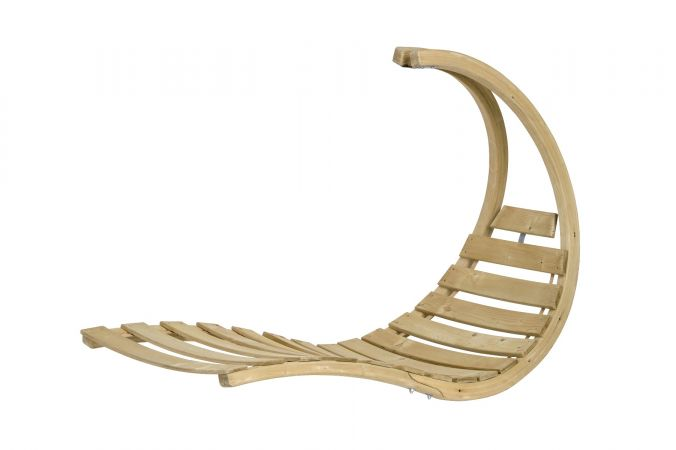 Hanging Chair Single 'Swing Lounger' Creme