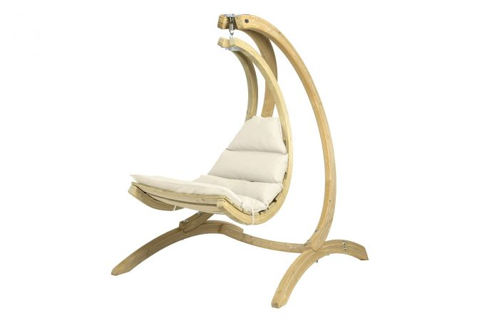 Hanging Chair Single 'Swing Chair' Creme