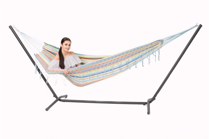 Hammock with Single Stand 'Easy & Grenada' Izmir