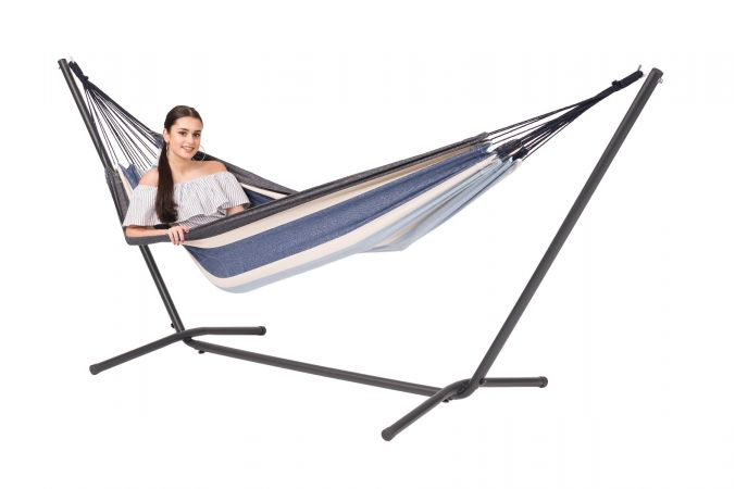 Hammock with Single Stand 'Easy & Margarita' Sea