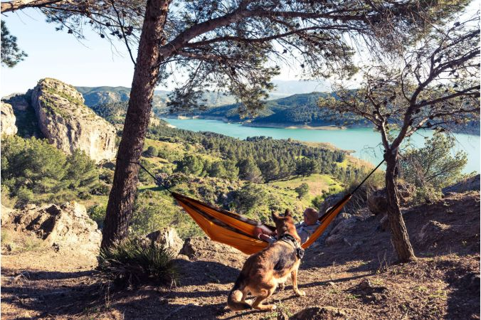 Travel Hammock 'Outdoor' Pluto