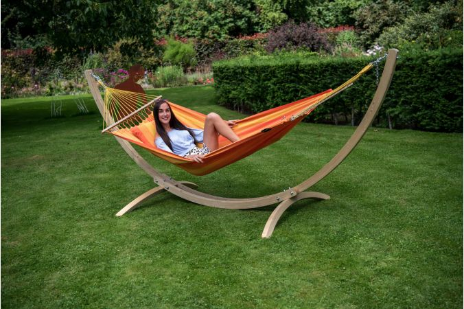 Hammock Single 'Relax' Orange