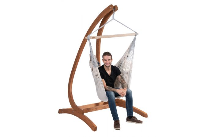 Hanging Chair Single 'Comfort' Pearl