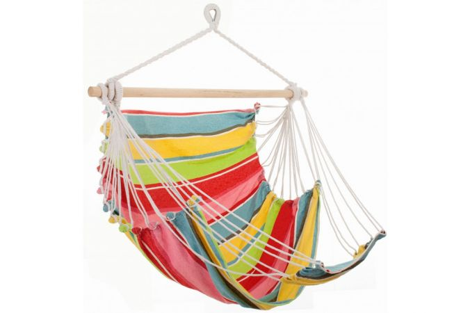 Hanging Chair Single 'Tropical' Orient Lounge