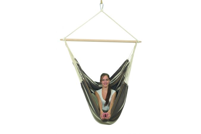 Hanging Chair Double 'Brasil Gigante' Café