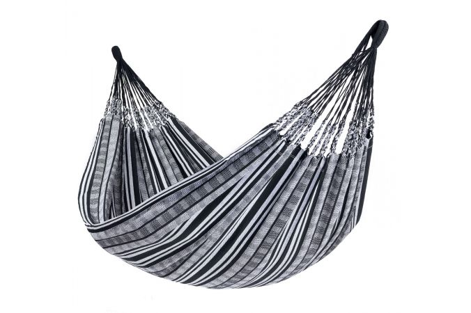 Hammock Double 'Comfort' Black White
