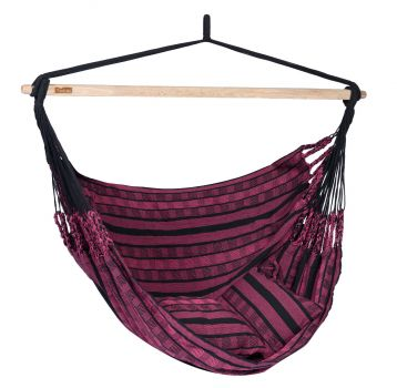 Hanging Chair Double 'Black Edition' Rose