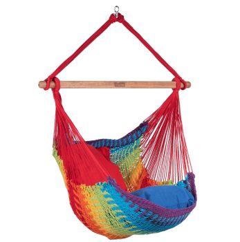 Hanging Chair Single 'Mexico' Rainbow