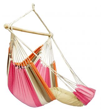Hanging Chair Single 'Tropical' Lychee Lounge