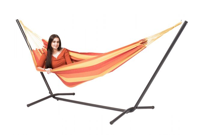 Hammock with Single Stand 'Easy & Margarita' Flame