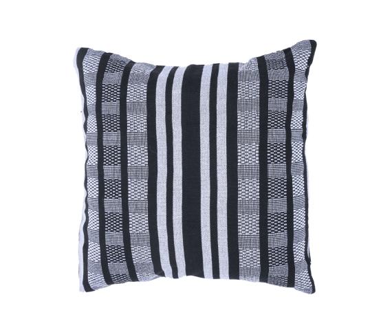 Pillow 'Comfort' Black White