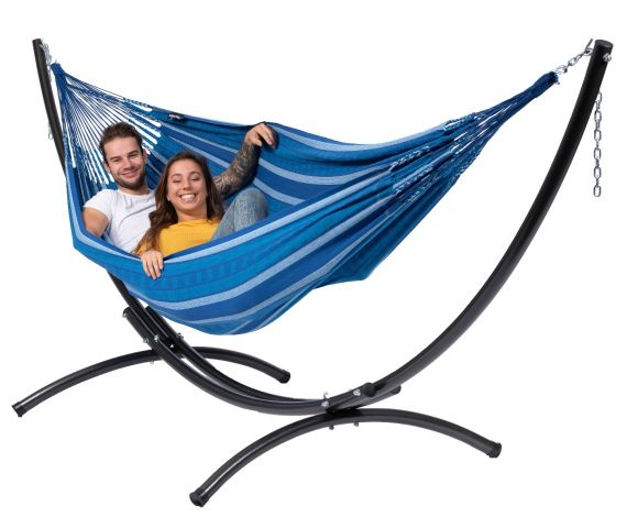Hammock with Double Stand 'Arc & Chill' Calm