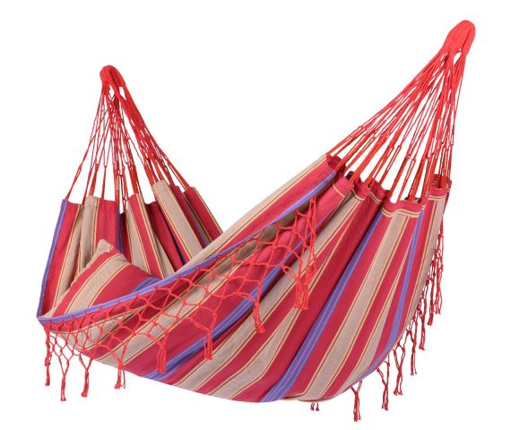 Hammock Single 'Saba' Cherry