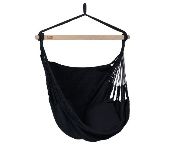 Hanging Chair Single 'Comfort' Black