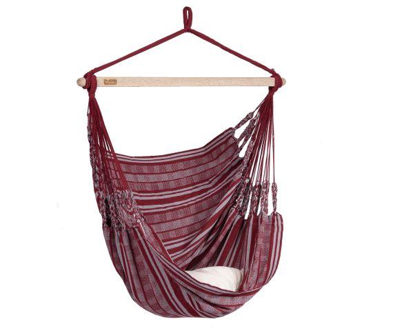 Hanging Chair Single 'Comfort' Bordeaux