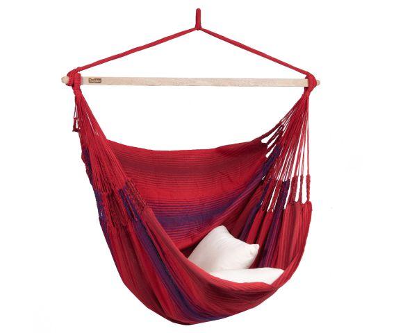 Hanging Chair Double 'Refresh' Bordeaux