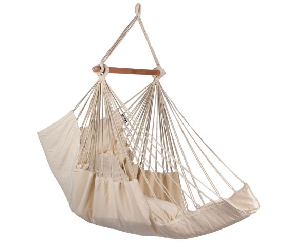 Hanging Chair Single 'Sereno' White