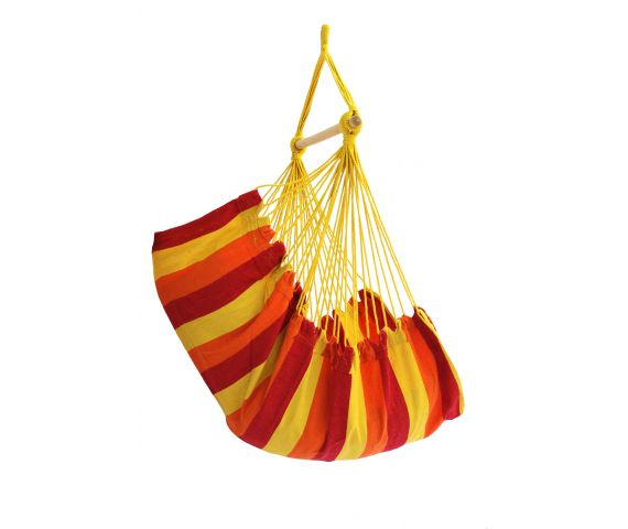 Hanging Chair Single 'Trinidad' Fire