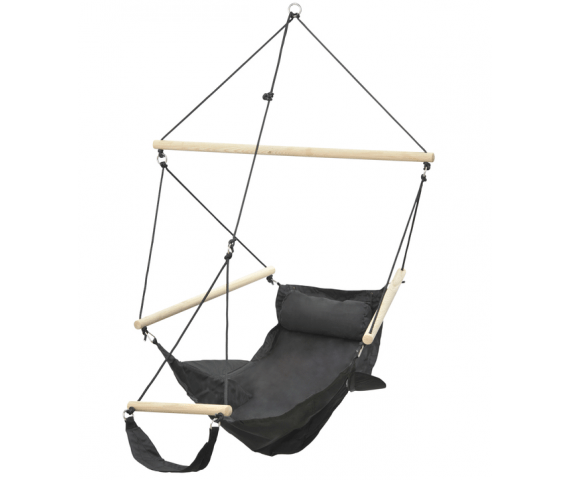 Hanging Chair Single 'Swinger' Black
