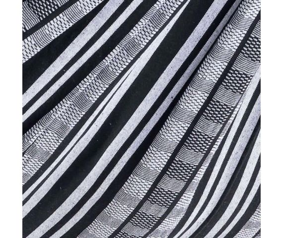 Blanket 'Comfort' Black White