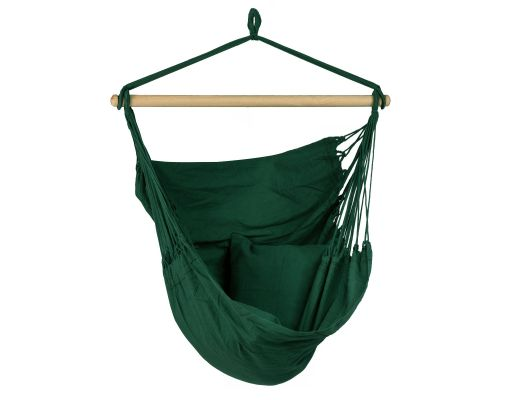 Hanging Chair Single 'Organic' Green